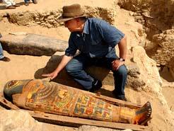 écouverte d'un sarcophage