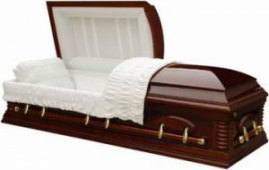 cercueil à deux portes