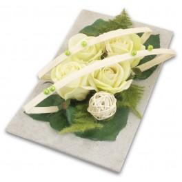 fleurs de deuil artificielles